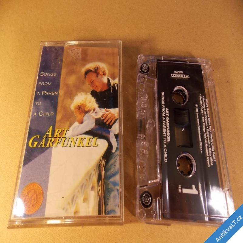 foto Art Garfunkel SONGS FROM A PARENT TO A CHILD 1998 MC Sony Columbia rar