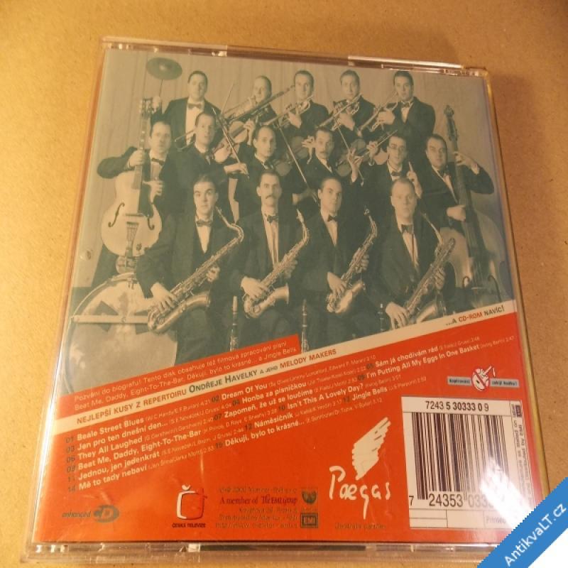 foto Havelka Ondřej & Melody Makers NEJLEPŠÍ KUSY 2000 CD Monitor EMI