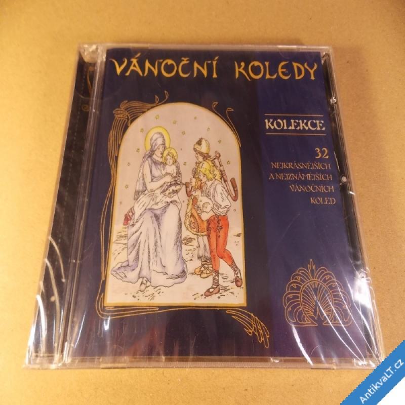 foto VÁNOČNÍ KOLEDY 32 nejkrásnějších 2001 CD Popron nerozbaleno