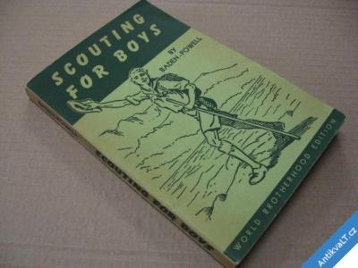 foto    SCOUTING FOR BOYS  BADEN POWELL  USA 1946