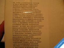 O DÍLE BEDŘICHA VÁCLAVÍKA  R. LUKÁŠOVÁ  1979