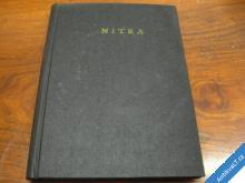 GEOLOGIE TEKTONIKA.. NITRA  1963 GEOFOND  SLEVY!