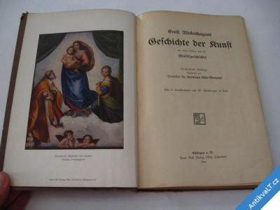 foto    GESCHICHTE DER KUNST  KURT WICKENHAGENS  1919