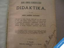 DIDAKTIKA JANA AMOSA KOMENSKÉHO 1892