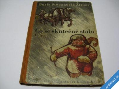 foto    CO SE SKUTEČNĚ STALO  ŽITKOV BORIS ST.  DK  1950