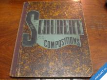 SCHUBERT COMPOSITIONS I. II.  NEW YORK CA 1890