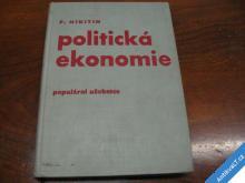 POLITICKÁ EKONOMIE 1961 P. NIKITIN