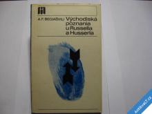 VÝCHODISKA POZNÁNÍ U RUSSELLA A HUSSERLA  1973
