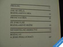 NEVIDITELNÉ HERECTVÍ  ČS ROZHLAS  1982