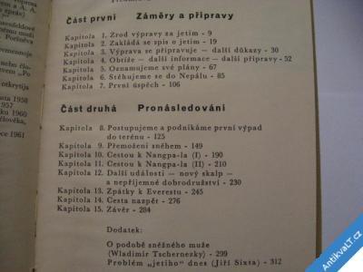 foto    PO STOPÁCH BÍLÉHO MUŽE / HIMÁLAJ  IZZARD R. 1960
