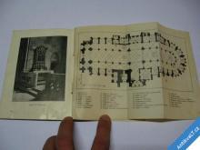 ILUSTROVANÝ PRŮVODCE CHRÁM SV. VÍTA 1929 KRÁSNÝ