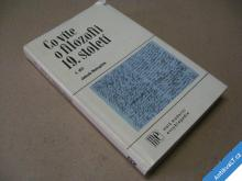 CO VÍTE O FILOZOFII 19. STOLETÍ I. NETOPILÍK J.