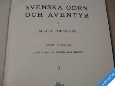 foto    SVENSKA ÖDEN OCH ÄVENTYR Strindberg A. 1911