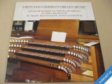 VIRTUOSO GERMAN ORGAN MUSIC G. Barber.. 1983 NSR